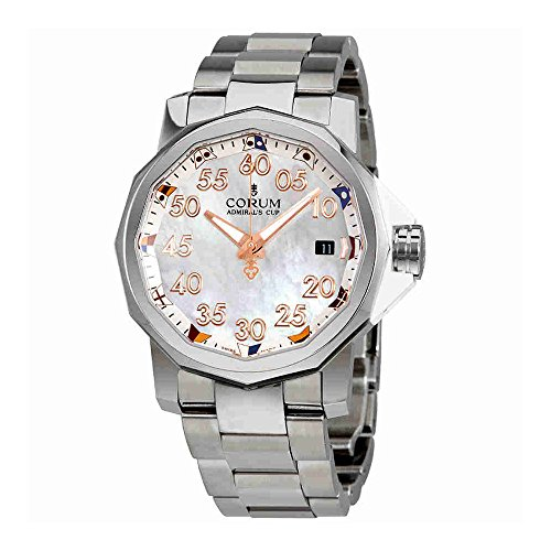 Corum Admiral's Cup Automatic Mother of Pearl Dial Mens Watch A082/03378