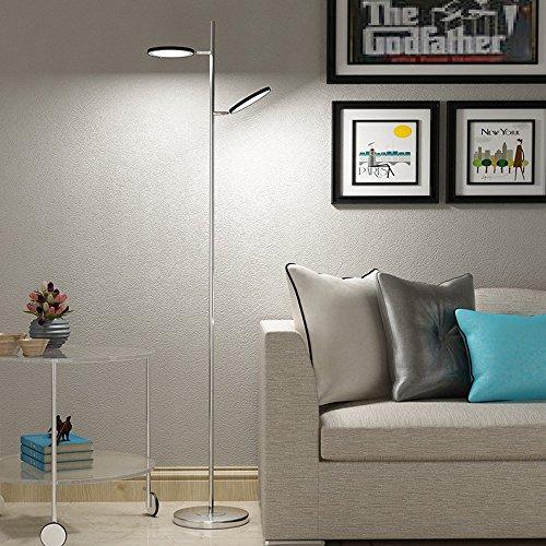 Table Lampe Tête Led Lampadaire Double Réglable De 8O0PknwX