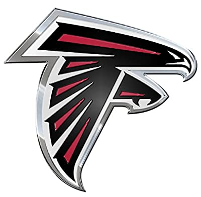 NFL Atlanta Falcons Die Cut Color Automobile Emblem