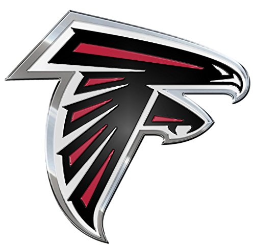NFL Atlanta Falcons Die Cut Color Automobile Emblem Falcon Stickers