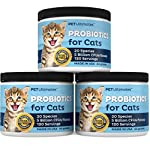 PetUltimates Probiotics for Cats - 20 Species - Stops Diarrhea & Vomiting, Cuts Litterbox Smell 11