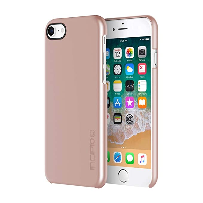 Incipio Feather iPhone 8 Case with Ultra-Thin Snap-On Design for iPhone 8 -  Iridescent Rose Gold