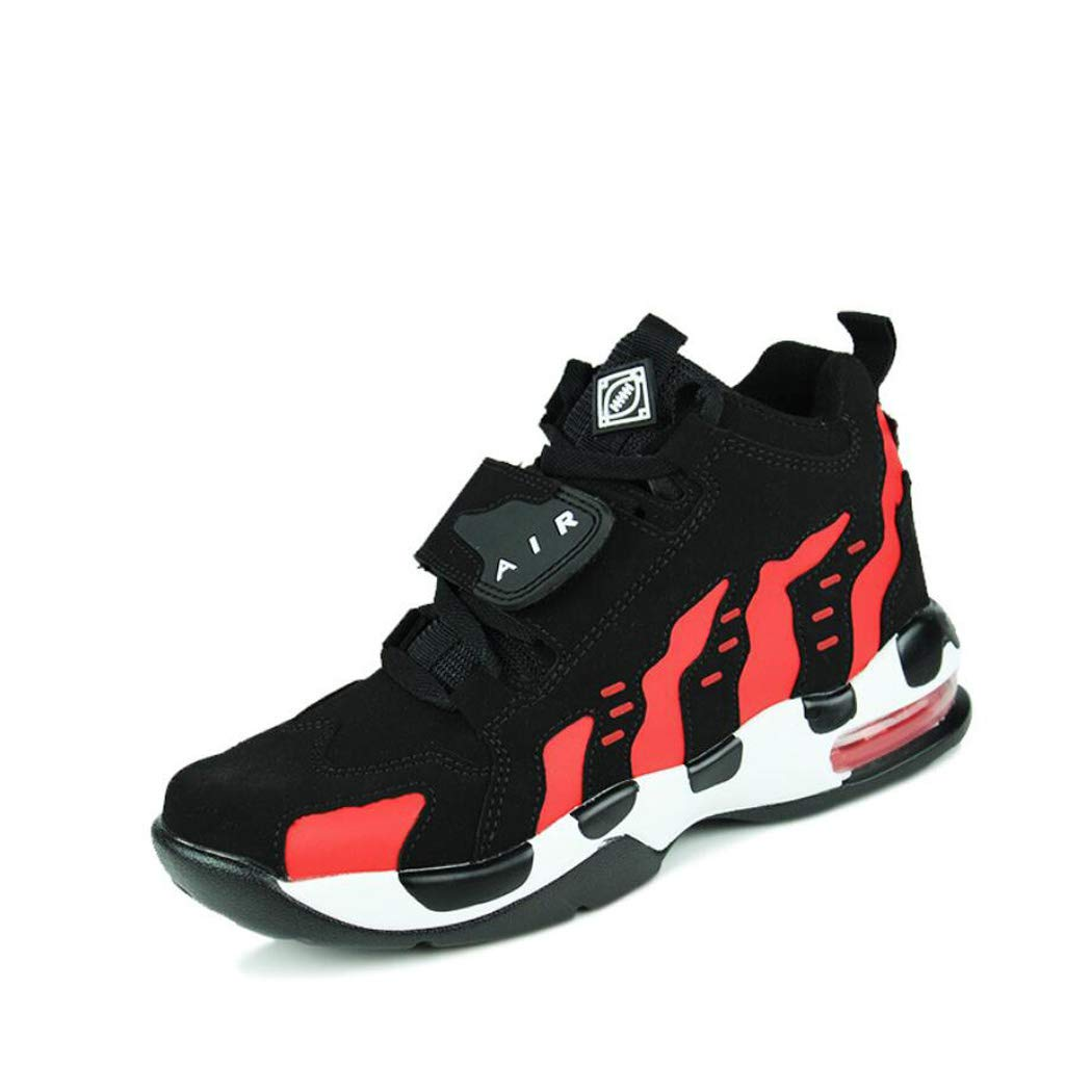 8b0575c1e10f5 Zxcvb Autumn and winter Basketball Shoes Men's Breathable Shock ...