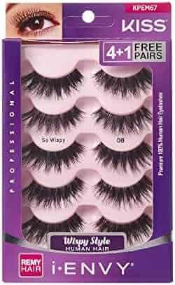 729e10f9daa i Envy by Kiss So Wispy 08 Strip Eyelashes Value Pack #KPEM67 (6 Pack