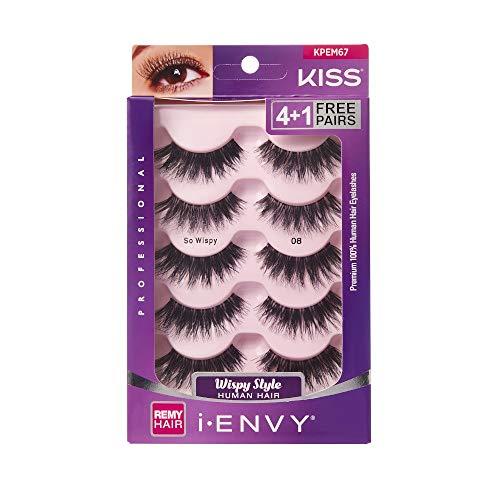 29b3cc05165 i Envy by Kiss So Wispy 08 Strip Eyelashes Value Pack #KPEM67