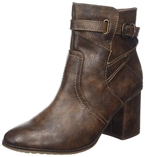 Mustang Høyhælte Ankel Boot Kvinners Ankelstøvletter