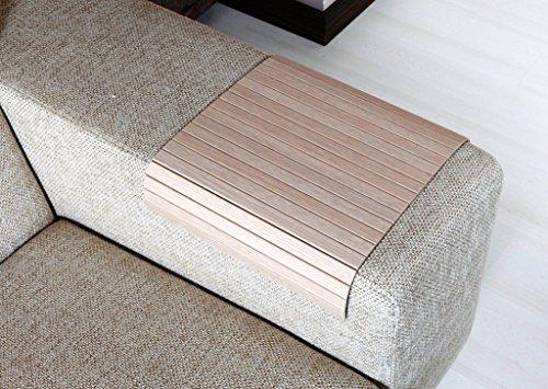 Sofa Tray Table (Oak Tree),Sofa Arm Tray, Armrest Tray, Sofa Arm Table, Couch Tray, Coffee Table, Sofa Table, Wood Tray, Wood Gifts ()