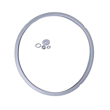 White 220mm Inside Dia Silicone Seal Gasket Seal Ring for Pressure Cooker Replac