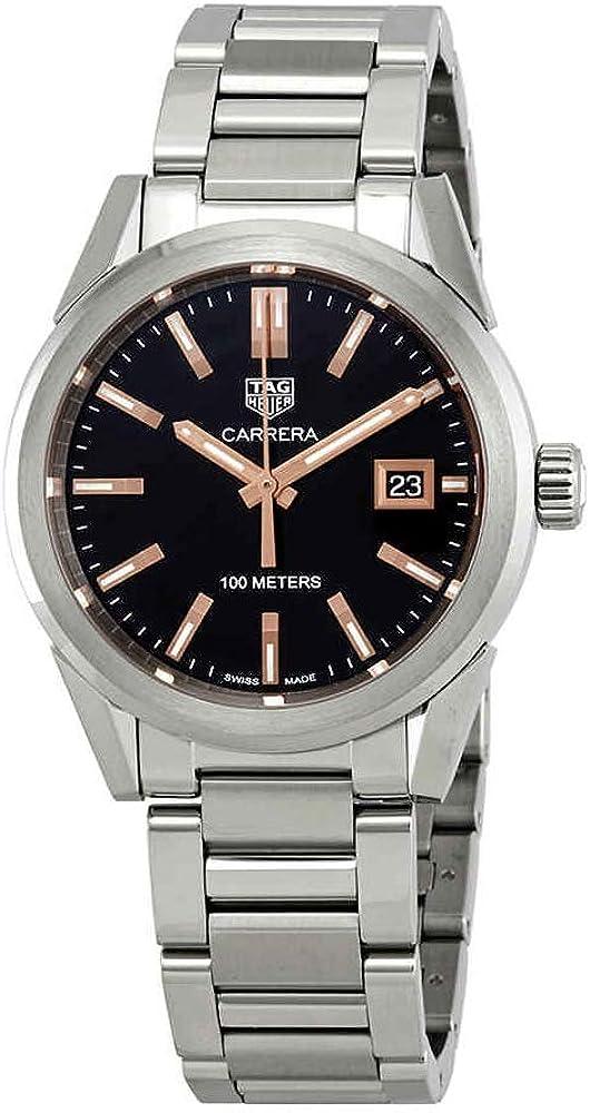 TAG Heuer Carrera WBG1311.BA0758 - Reloj para mujer (esfera negra, 36 mm)