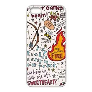YUAHS(TM) Phone Case for Iphone 5,5S with The Hunger Games YAS896003