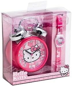 Hello Kitty 25623 - Reloj para niños de cuarzo, correa de plástico color varios colores
