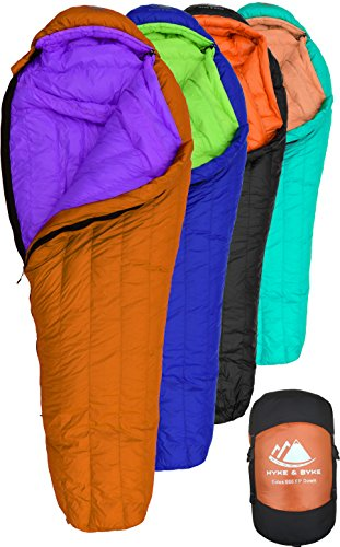 Camp Sleeping Gear 100% Quality Aegismax Ultra Dry White Goose Down Sleeping Bags With Hood Mummy Type Outdoor Camp Hike Sleeping Gear Water Repellent Down As Effectively As A Fairy Does