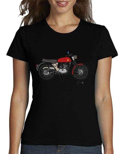 latostadora - Camiseta Clsica Espaola para Mujer Negro XL: JMB: Amazon.es: Ropa y accesorios