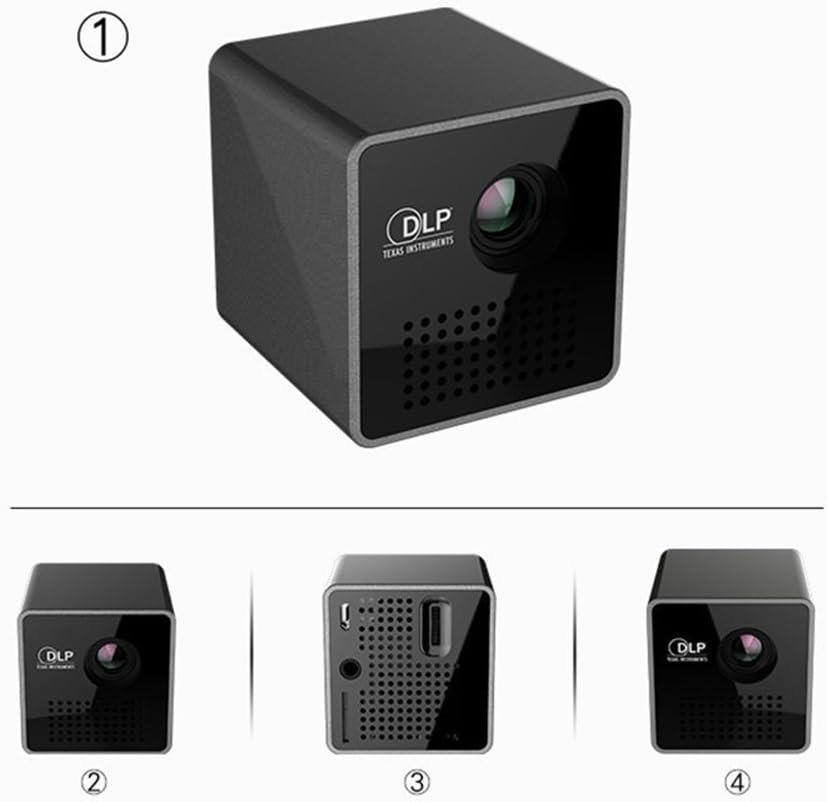 CAR SHUN Proyector Portable Elegante del Cubo De 1080P LED Mini ...