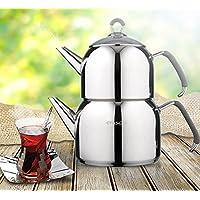 Emsan Anatolia Maxi(Büyük) Çelik Çaydanlık Takımı