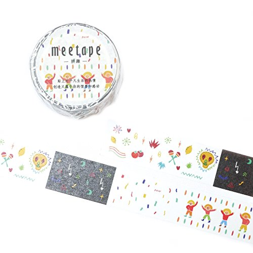 Signature Collection Designer Washi Tape 20mm x 10m (Festival of - Favorite Fall Foods