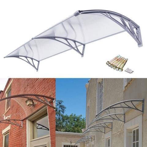 Polycarbonate Patio Cover Kits Awning Patio Cover Outdoor Polycarbonate  Front Door Window .