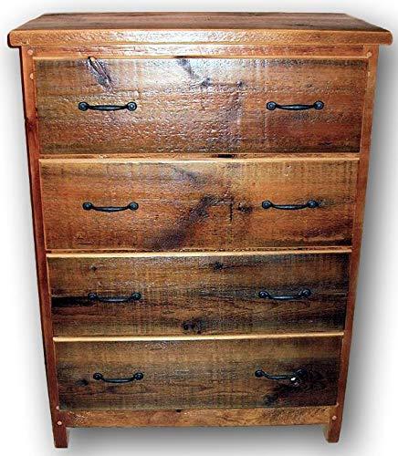 - Barnwood 4 Drawer Dresser Heart Pine