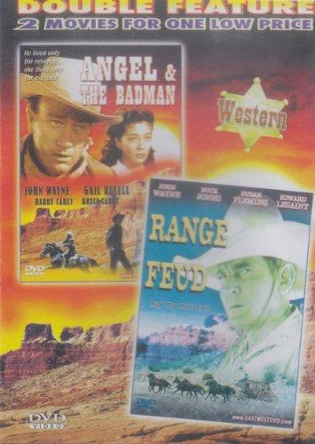 John Wayne Double Feature: Angel & The Badman, Range Feud by EastWest
