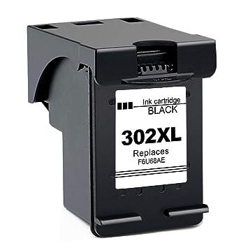 Gmoher Remanufacturado Cartucho de Tinta para HP 302XL HP 302 ...
