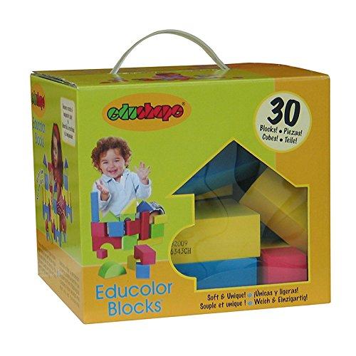 EDUSHAPE EDUCOLOR BLOCKS 30 PCS (Set of (Educolor Blocks)