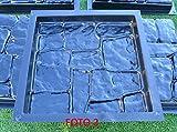 Betonex 5pcs PLASTIK MOLDS Casting Concrete
