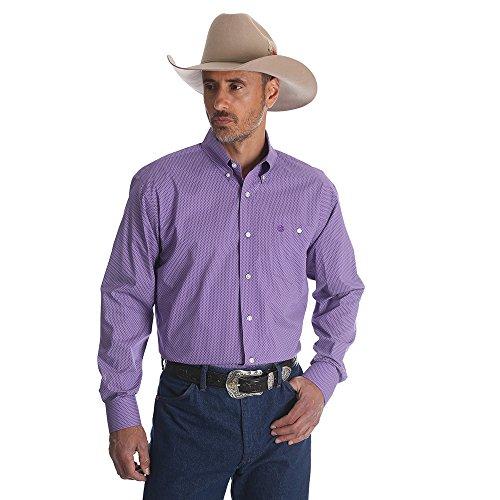 Wrangler Classic Long Sleeve Shirt (White) - 9