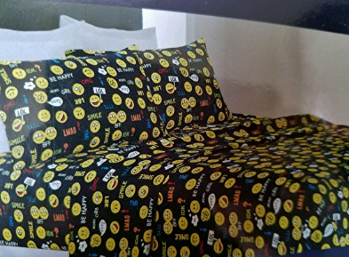 Black Emoji Full Sheet Set