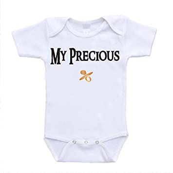 My Precious Handmade Baby Bodysuit For Boys And Girls The One Ring To Rule Them All Lord of the Rings Baby Onesie/® LOTR Quote By Gollum Baby Shower Gift Idea