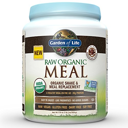 Free Shipping Garden Of Life Meal Replacement Organic Raw Plant Based Protein Powder