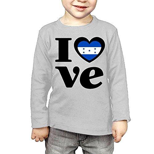 Toddler Love Honduras ComfortSoft Long Sleeve Tee by CERTONGCXTS