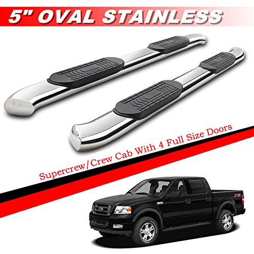 07 f150 running boards crew cab - 2
