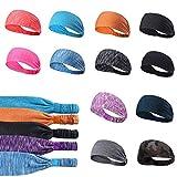 Dongtu Men Women Sweatband Headband Running Yoga Elastic Hair Band Hair Accessories Headbands