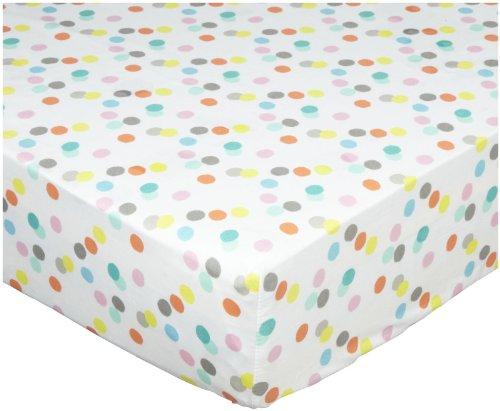 BananaFish MIGI Fitted Crib Sheet - Modern Blossom - - Migi Blossom