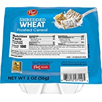 Post Breakfast Cereal Cups, Frosted Shredded Wheat, 2 Oz Bowls, 48 Count