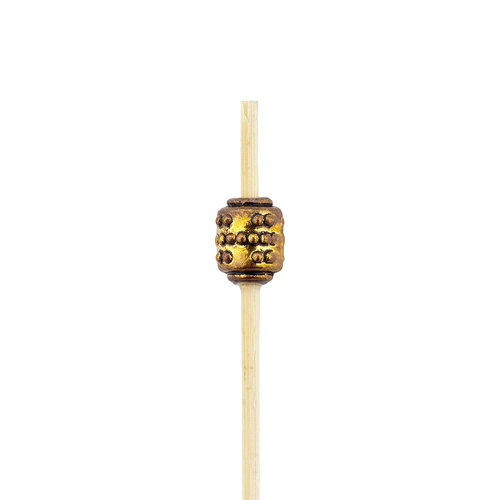 Luxury Gold Metal Beaded Picks - Skewers -  4'' - 1000ct Box - Restaurantware by Restaurantware (Image #9)