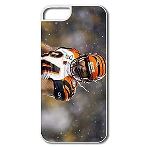 WallM NFL Player Cincinnati Bengals Case For Iphone 5/5S