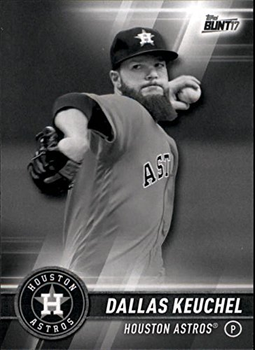 2017 Topps Bunt #54 Dallas Keuchel Houston Astros Baseball Card