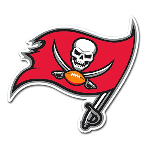 NFL Tampa Bay Buccaneers Team Magnet, Large, Red