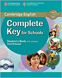 Complete Key for Schools Student's Book with Answers with