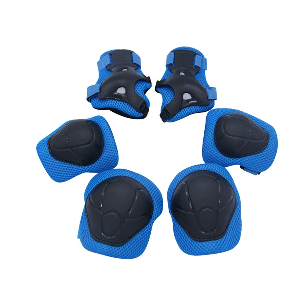 Kids Protective Gear Set, Child Sport Gear Boys Girls Skating Protection  Set Knee Pads Elbow Pads with Wrist Guards for Cycling Skating Scooter  (Blue): Amazon.in: Sports, Fitness & Outdoors