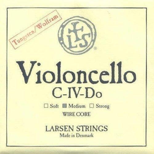 Larsen Cello C String Wire Core 3/4 Size Medium