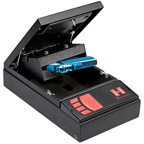 4. Hornady 98150 Security Rapid Gun Safe, Black