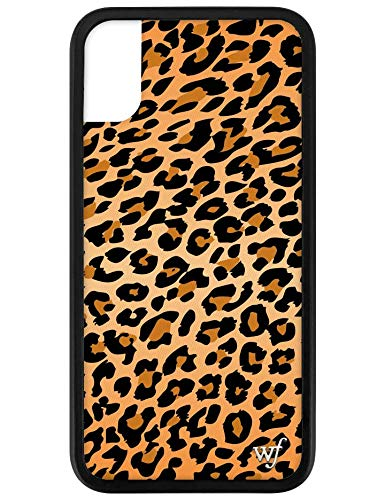Wildflower Limited Edition iPhone Case for iPhone X and XS (Leopard Print)