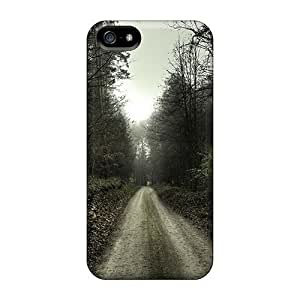 Iphone 5/5s Case Cover Landscape Forest Road Nature Case - Eco-friendly Packaging
