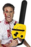 Smiffy's Adult Unisex Chainsaw with Sound, Black, Batteries...