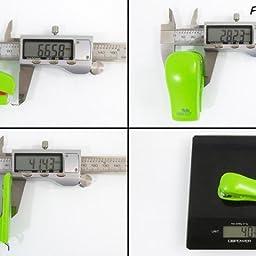 Rapesco Bug - Mini grapadora con caja de 1000 grapas 26/6, color ...