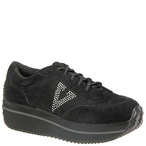 Volatile Platform Sneakers - Volatile Women's Expulsion Fashion Sneaker,Black,7 M