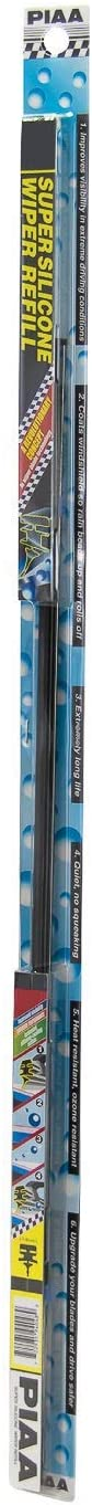 "PIAA 94040 Silicone Wiper Blade Refill, 16"" (Pack of 1)"
