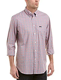 Faconnable Mens Woven Shirt, L